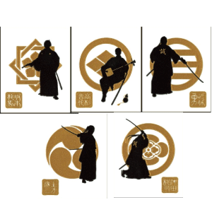 samurai-5pc-gld